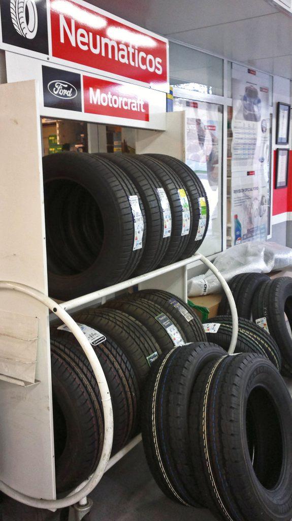 venta de neumáticos, pre-ITV
